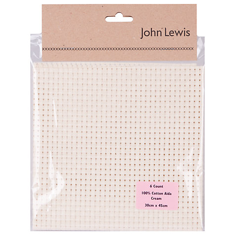 Buy John Lewis 6 Count Binca Aida, One Size Online at johnlewis.com