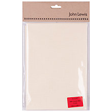 Buy John Lewis 14 Count Aida, Large Online at johnlewis.com