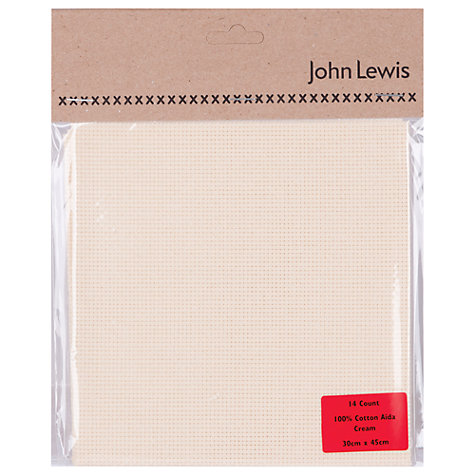 Buy John Lewis 14 Count Aida, Small Online at johnlewis.com
