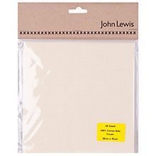 Buy John Lewis 18 Count Aida, Small Online at johnlewis.com