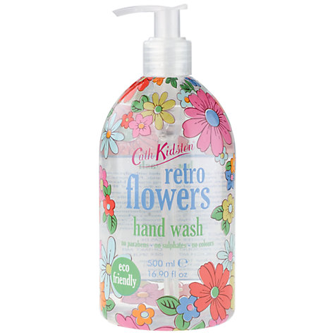Buy Cath Kidston Retro Flowers Handwash, 500ml Online at johnlewis.com