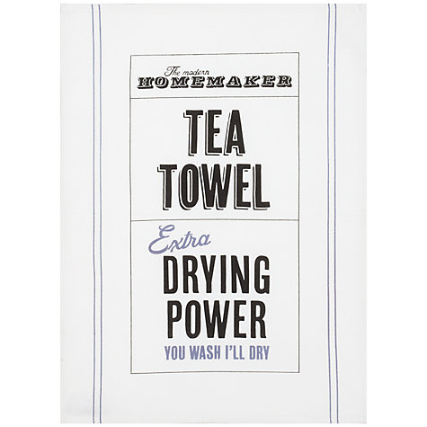 Buy Practical Homemaker Tea Towel Online at johnlewis.com