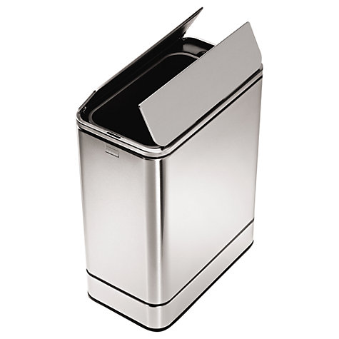Buy simplehuman Butterfly Sensor Bin, 48L Online at johnlewis.com