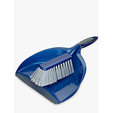 Buy John Lewis The Basics Dustpan and Brush Online at johnlewis.com