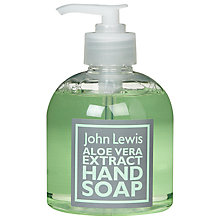 Buy John Lewis Hand Soap, Aloe, 300ml Online at johnlewis.com