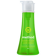 Buy Method Washing Up Liquid Pump, 532ml, Cucumber Online at johnlewis.com