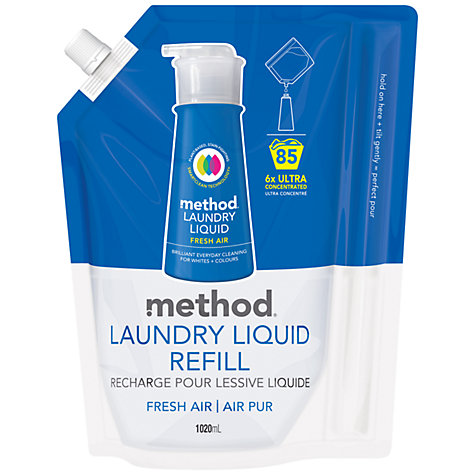 Buy Method Laundry Detergent Refill, 85 Washes Online at johnlewis.com