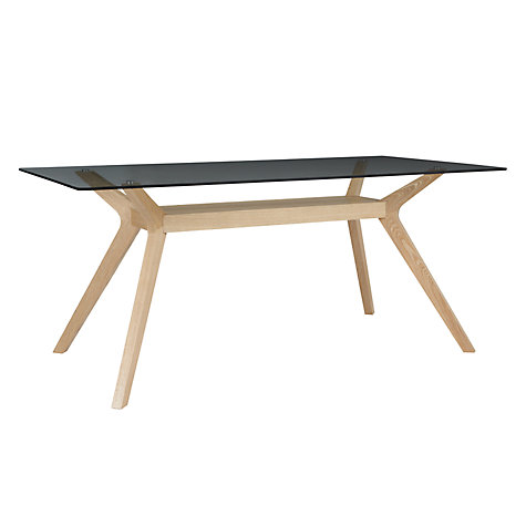 Buy John Lewis Akemi Rectangular 6 Seater Dining Table Online at johnlewis.com