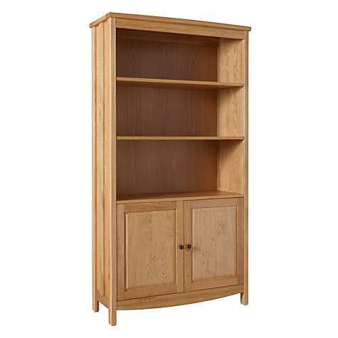 Buy John Lewis Burford Bookcase with 2 Doors Online at johnlewis.com