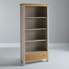 Buy John Lewis Floyd Bookcase, Grey Online at johnlewis.com