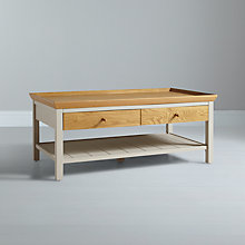 Buy John Lewis Floyd Coffee Table, Grey Online at johnlewis.com