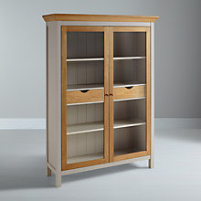 Buy John Lewis Floyd Display Cabinet, Grey Online at johnlewis.com