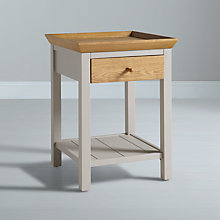 Buy John Lewis Floyd Side Table, Grey Online at johnlewis.com