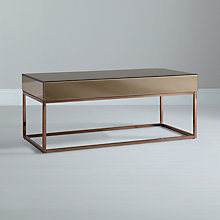 Buy John Lewis Halkin Coffee Table, Bronze Online at johnlewis.com