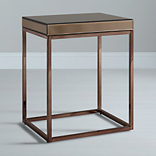 Buy John Lewis Halkin Side Table, Bronze Online at johnlewis.com