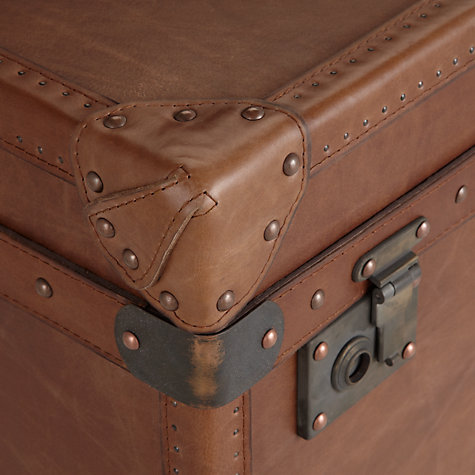 Buy Halo Harvard Leather Trunk Online at johnlewis.com