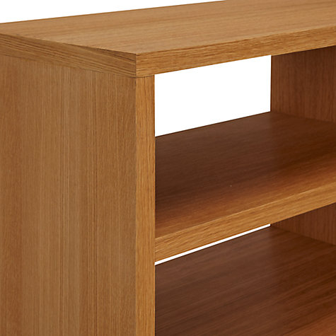 Buy John Lewis Velo Television Stand for TVs up to 42-inches, Oak Online at johnlewis.com