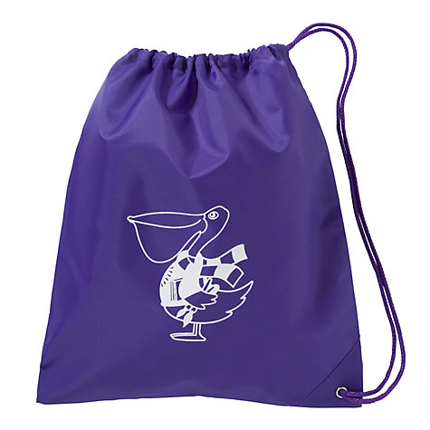 Buy The Perse Pelican Nursery Bag, Purple Online at johnlewis.com