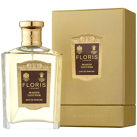Buy Floris Mahon Leather Eau de Parfum, 100ml Online at johnlewis.com