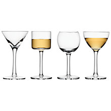 Buy LSA Lulu Liqueur Glasses, Set of 4, Clear Online at johnlewis.com