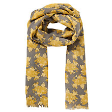 Buy COLLECTION by John Lewis Floral Cluster Wool Scarf Online at johnlewis.com