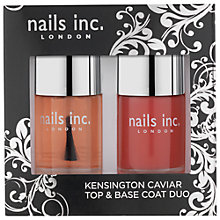 Buy Nails Inc. Kensington Caviar Top & Base Coat Duo, 2 x 10ml Online at johnlewis.com