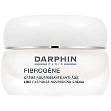 Buy Darphin Fibrogene Line Response Nourishing Cream, 50ml Online at johnlewis.com