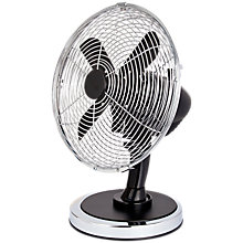 Buy NSA'UK DF-102BK Black Desk Fan, 10 Inch Online at johnlewis.com