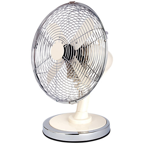 Buy NSA'UK DF-102CM White Desk Fan, 10 Inch Online at johnlewis.com