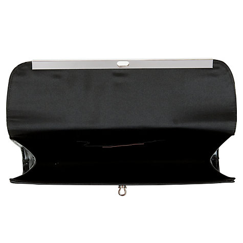 Buy John Lewis Patent Envelope Clutch Bag, Black Online at johnlewis.com