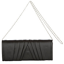 Buy John Lewis Satin Pleat Clutch Bag Online at johnlewis.com