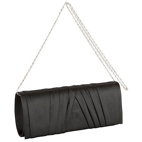 Buy John Lewis Satin Pleat Clutch Handbag Online at johnlewis.com