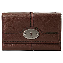 Buy Fossil Maddox Multi-Function Purse, Brown Online at johnlewis.com