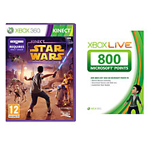 Buy Kinect Star Wars, Xbox 360 with 800 Live Points Online at johnlewis.com