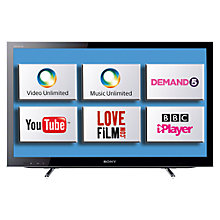 Buy Sony Bravia KDL40HX753BU LED HD 1080p 3D Smart TV, 40 Inch with Freeview HD Online at johnlewis.com