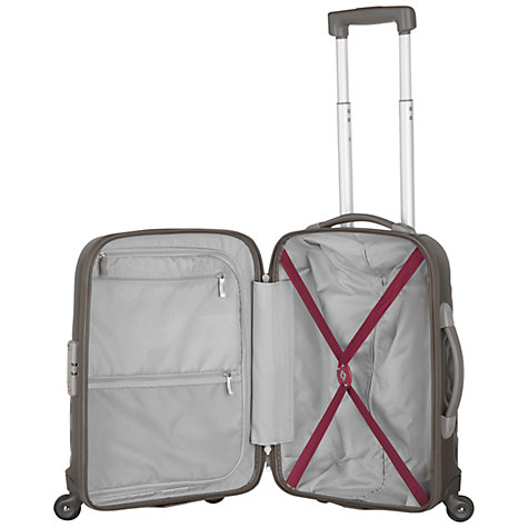 Buy Samsonite Essensis 4-Wheel Cabin Spinner Suitcase Online at johnlewis.com