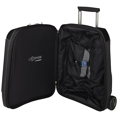 "Buy Samsonite Litesphere 17.3"" Laptop Mobile Office, Black Online at johnlewis.com"