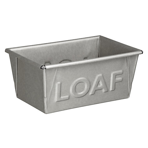 Buy John Lewis Home Comforts Loaf Bread Tin, 2lb/900g Online at johnlewis.com