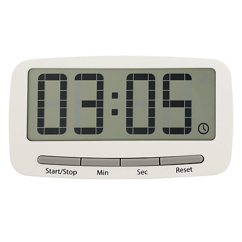 Buy Joseph Joseph Clipit Magnetic Kitchen Timer, White Online at johnlewis.com