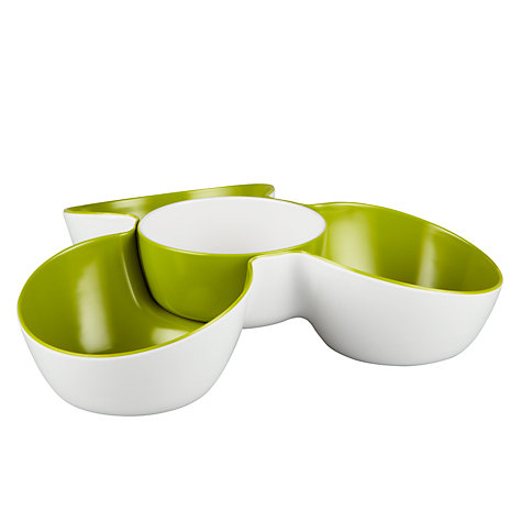 Buy Joseph Joseph Triple Serving Dish, White Online at johnlewis.com