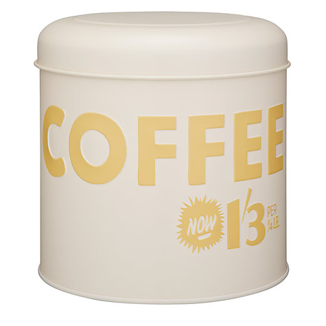 Buy Vintage by Hemingway Coffee Storage Tin Online at johnlewis.com