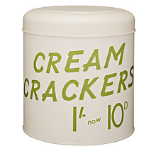 Buy Vintage by Hemingway Crackers Storage Tin Online at johnlewis.com