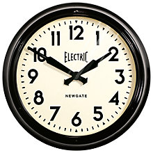 Buy Newgate Giant Electric Wall Clock Online at johnlewis.com