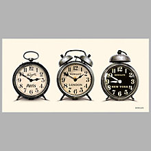 Buy Newgate Lambeth Time Zone Clock, 60 x 30 x 4.4cm Online at johnlewis.com