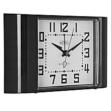Buy Newgate Metro Alarm Clock, Black Online at johnlewis.com