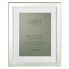 "Buy John Lewis Silver Plated Box Photo Frame, 6 x 8"" (15 x 20cm) Online at johnlewis.com"