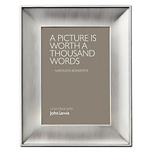 John Lewis Pewter Photo Frame
