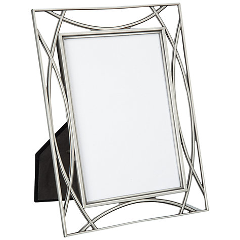 "Buy John Lewis Pewter Tone Photo Frame, 5 x 7"" (13 x 18cm) Online at johnlewis.com"