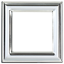 "Buy John Lewis Square Photo Frame, Silver, 2.5 x 2.5"" (6 x 6cm) Online at johnlewis.com"
