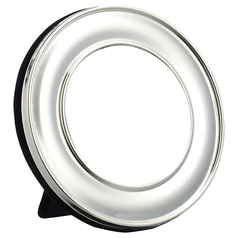 "Buy John Lewis Round Photo Frame, Silver, 2.5 x 2.5"" (6 x 6cm) Online at johnlewis.com"